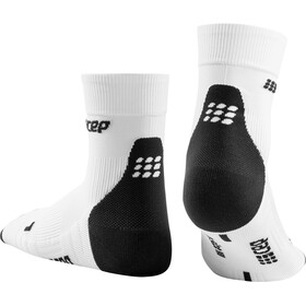 cep Short Socks 3.0 Uomo, white/dark grey